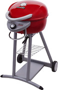 Electric Grill Tru Infrared Patio Outdoor Cooking Porcelain Rust Resistant Red