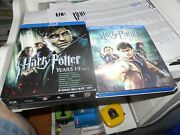 Harry Potter Years 1-7 Part 8 Disc [blu-ray] + 3 Extra Discs