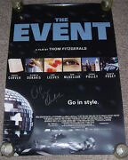 Event Original Movie Poster Single-sided 27x40autographed By Olympia Dukakis