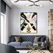 Framed Canvas Series037 By Salvador Dali Wall Art Living Room Decorations