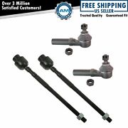 4pc Front Inner And Outer Tie Rod Kit Set For Chrysler Dodge Plymouth