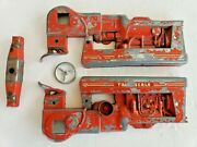 Vintage Carter Tru Scale Tractor Frame, Axle And Steering Wheel