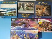 New - Jigsaw Puzzle Lot 500 750 1500 Piece - Sure-lox - Christian Riese Lasse