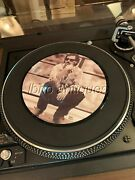 Rare Bruce Springsteen Picture Dsic / Hungry Heart. Uk 45rpm Columbia Records