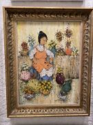 Mildred Barrette Oil Painting