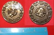Brand New-sought After-donald Duck Pirate-disney Challenge Coin