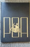 Vintage 40th Cb Poa Second Voyage World War Ii 1944-45 Seabee Cruise Book