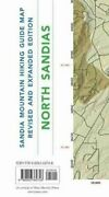Sandia Mountain Hiking Guide Map Revised And Expanded Edition 9780826360748
