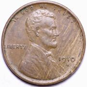 1910-s Lincoln Wheat Cent Penny Choice Unc Free Shipping E878 Wmt