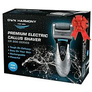 Own Harmony Electric Callus Remover And Rechargeable Pedicure Tools For Men ...