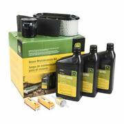 John Deere Home Maintenance Filter And Oil Kit Lg257 X540 Lawn And Garden Tractor