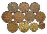 South Africa Lot X 11 Dates 1934-1962 Inc Penny 1934 1938 1939 1940 1/4d 1942.