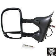For Ford Front,left Driver Side Door Mirror Fo1320274 New 4c3z17d743caacover