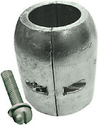 Zinc Clamp Shaft Anode With Slotted Screw 1-3/4 Id - Martyr Anodes