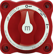 Mini Battery Switch Single Circuit On-off With Knob M-series - Blue Sea Systems