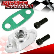 1/2 Npt T3 T4 Turbo Oil Feeding Line Fitting Adapter Flange Turbo Replacement