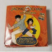 2002 Vintage Jackie Chan Adventures Kung Fu Match Card Game Wendy's Meal Toy