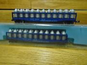 Atlas Austria N Scale Cando Two 55ft Container Tank Cars Obs Vg+deal