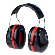 3m Peltor Optime 105 Over The Hear Earmuffs Hearing Protection Black Red 10 Case