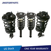 4pcs Front And Rear Struts Shock Absorbers For 00-01 Infiniti I30 Nissan Maxima
