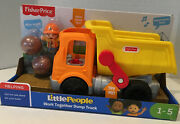 Fisher Price Little People Work Together Dump Truck Talks New