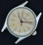 Vintage Clebar Manual Wind Menand039s Wristwatch As 1187 Military Style For Repair