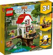 Lego Creator Treehouse Treasure 31078 3 In 1 Set Retired New Pirate Ship Fort
