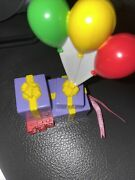 Fisher Price Sweet Sounds Loving Family Balloons And Gift Interactive Dollhouse