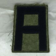 Vintage Military Patch First 1st Army 1 App 2 7/8 Tall