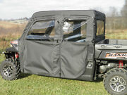 Polaris Ranger Crew Doors And Rear Window For An Existing Hard Top And Windshield