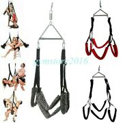 Sex Swing 360 Hanging Sling Spreader Bar Frame Couple Love Aid Strap Bed Sm Toys