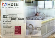 Newmoen Caldwell Roman Tub Faucet-brushed Nickel-two Handle-bath-valve Included