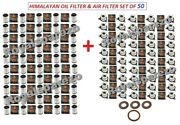 50x Royal Enfield Himalayan Oil Filter With Seal/gasket/washer And Air Filter