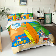 Tom And Jerry Printed Bedding Set Of Duvet Cover And Pillowcase Full Queen King