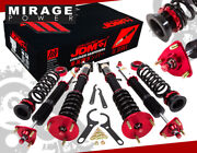 Jdm Sport 2013+ Gs350 Adjustable Coilovers Lowering Spring Dampening Pillowball