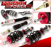 99-05 Gti Jetta Beetle Golf Adjustable Racing Full Coil Over Suspension System
