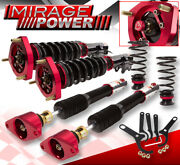 Adjustable Racing Full Coil Over Suspension System Kit 2014-2018 Mazda Speed 3