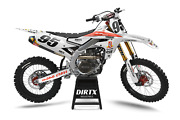 New Dirtx Industries Yamaha Chesterfield Factory Graphics Yz Yzf 85 125 250 450