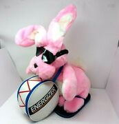 Vintage 1989 Energizer Bunny 22 In Plush Doll Stuffed Animal Advertising Battery