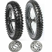 15mm Axle Hub Rear And Front Tire Tube Rim 90/100-14 70/100-17 For Dirt Pit Bike