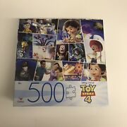 New Sealed 500 Piece Cardinal Jigsaw Puzzle Toy Story 4 24x18 Free Shipping