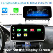 Android 10 Car Gps Dash Touch Navi Wireless Carplay For Benz C Clk Class 2007-10