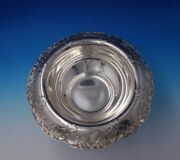 Lap Over Edge Acid Etched By And Co Sterling Silver Fruit Bowl 4975