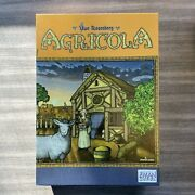 Z-man Games Agricola Uwe Rosenberg's Board Game Of Farming In The 17th Century