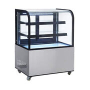 Nsf 60 Inch Curved Glass Bakery Display Case Arc-470y Free Shipping