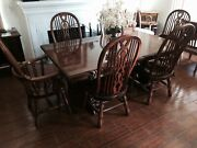 Gorgeous High Back - Dining Chair And Dining Table Set