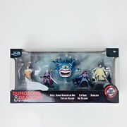 New 2020 Dungeons And Dragons Jada Diecast 5 Pack Wizards Of The Coast Sealed