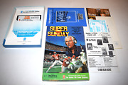Super Sunday Commodore 64 C64 Computer Video Game Floppy Disc Complete In Box