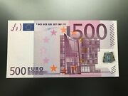 Germany 500 Euro 2002 Duisenberg R004 Ultra Rarity Unc 100 Authentic