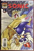 Sonic The Hedgehog Comic Book 91 February 2001 Knuckles Bagged And Boarded Nm+